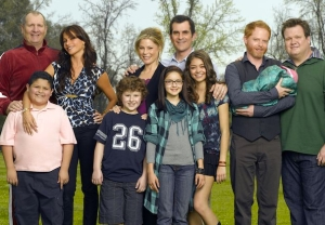 'Modern Family' Season 1 cast photo
