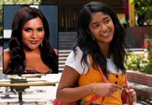 Mindy Kaling Never Have I Ever Netflix Interview