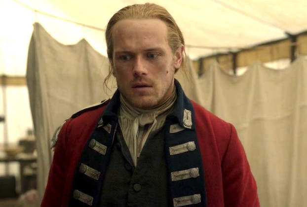 Outlander Jamie Emotions Sam Heughan Photos