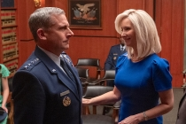 Lisa Kudrow Joins Steve Carell in Netflix's Space Force — Get First Look