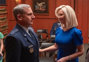 Space Force Steve Carell Lisa Kudrow Netflix