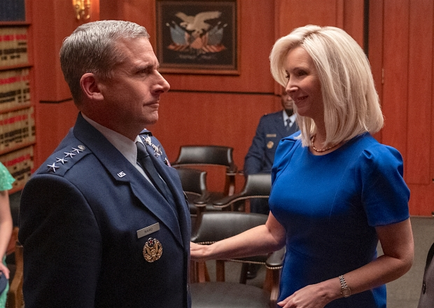 Space Force Steve Carell Lisa Kudrow Netflix