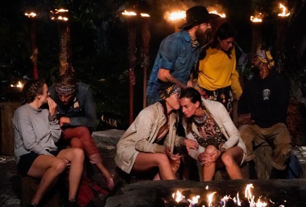 Survivor Tribal Council Whispering Season 40