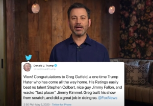 donald trump attacks jimmy kimmel last placer monologue video