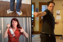 The Office Cast Recreates Jim/Pam Wedding Dancing for a Zoom Marriage