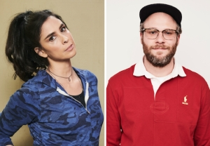 Sarah Silverman and Seth Rogen - HBO Max