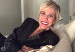 saturday night live video kristen wiig snl at home finale