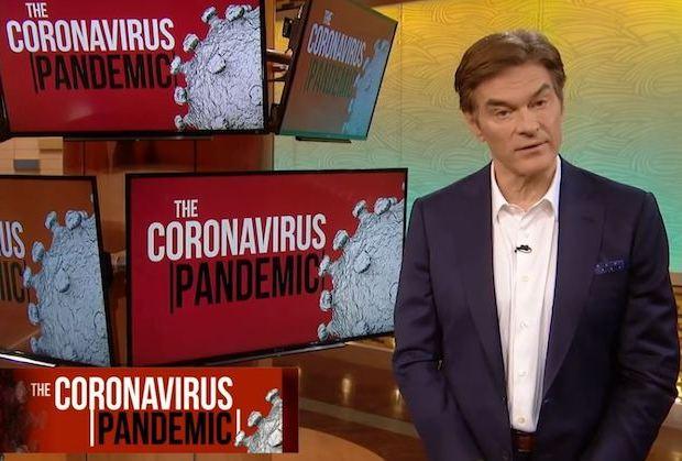 Dr Oz Emmy Nomination 2020 Snub Coronavirus Comments