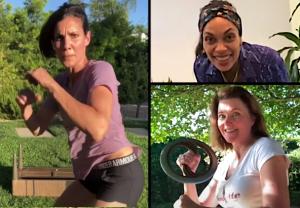 Quarantine Actress Stunts Video