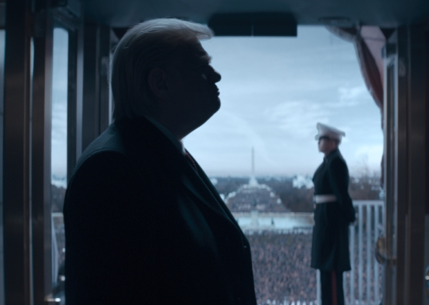 Donald Trump Showtime Brendan Gleeson
