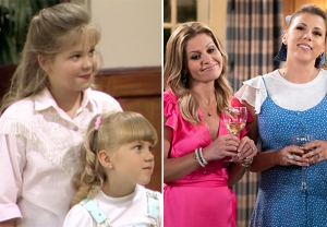Fuller House Before & After