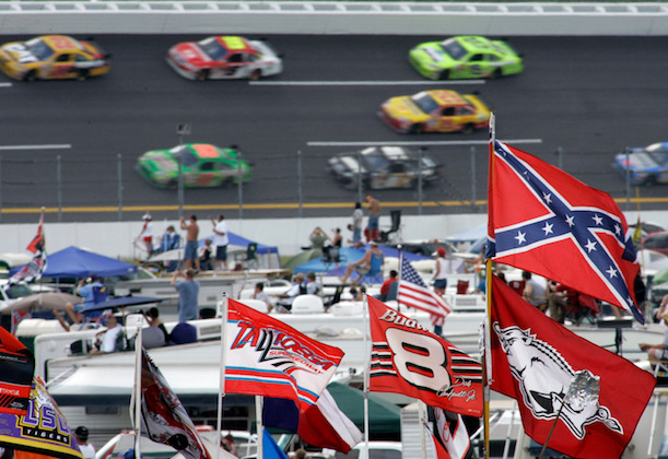 NASCAR Confederate Flag Ban Races