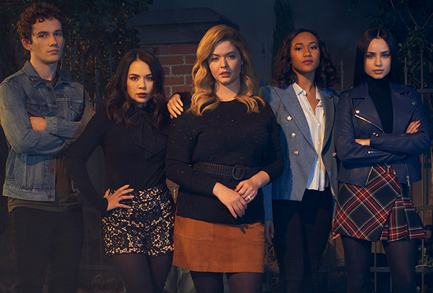 Pretty Little Liars Perfectionists Cast Reunion — Series Finale Ending |  TVLine