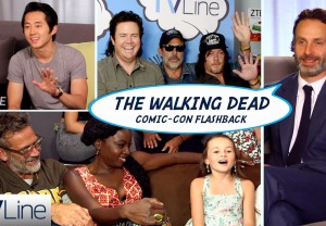 Walking Dead SDCC Flashback