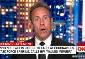 Chris Cuomo President Trump Goya