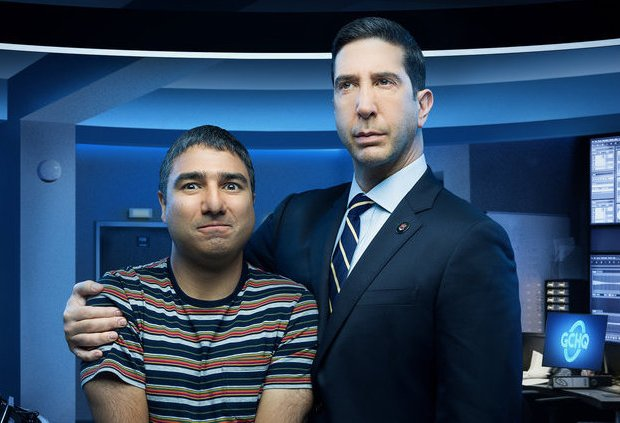 Intelligence Peacock David Schwimmer