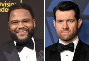 Anthony Anderson and Billy Eichner host 'Jimmy Kimmel Live'