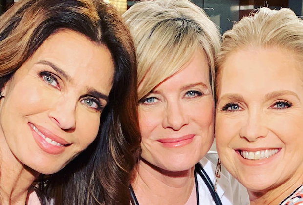 Kristian Alfonso, Mary Beth Evans, Melissa Reeves