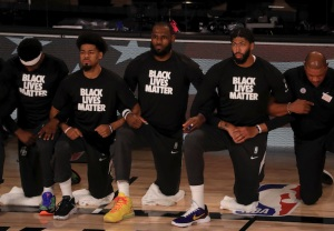 Lakers Kneel Black Lives Matter