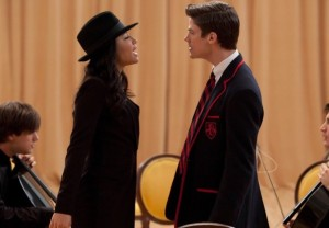 Naya Rivera and Grant Gustin