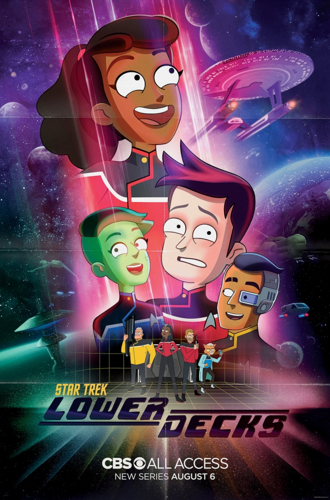 Star Trek Lower Decks Season 1 Poster