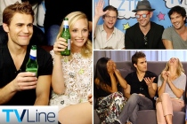 Comic-Con Flashback: Vampire Diaries Stars Drop Truth Bombs (Plus a Couple F-Bombs) About Love in Mystic Falls