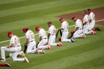 Yankees and Nationals Take a Knee for Black Lives Matter Before MLB Opener
