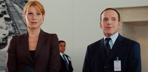 Agent Coulson Iron Man