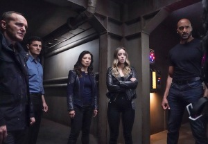 Agents of SHIELD Gray Hallways