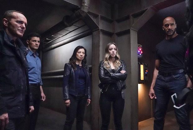 Agents of SHIELD Gray Hallways