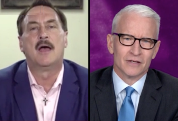 Video Anderson Cooper Grills Mypillow Ceo Mike Lindell Tvline