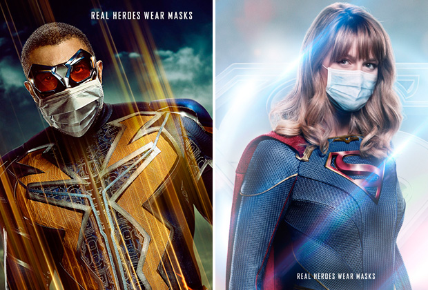 Arrowverse Posters 2021