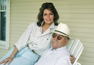 Deidre Hall and Wilford Brimley in 'Our House'