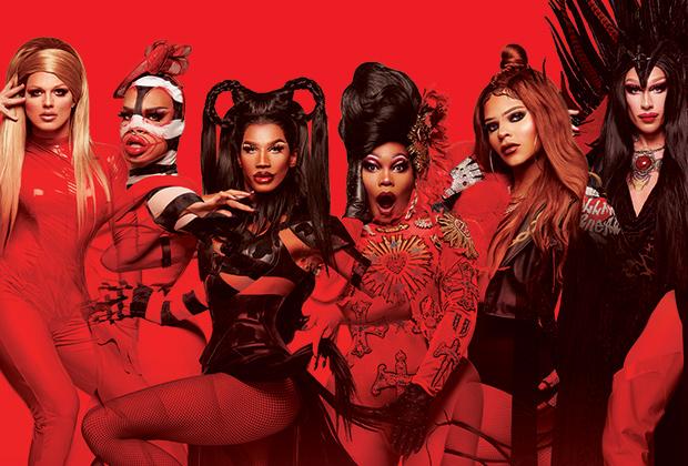 Barrys Halloween Party 2020 Drag Race Vegas Revue Recap: Premiere — Naomi Smalls vs. Derrick