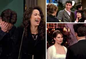 'Friends' TV Show Relationships