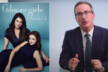 John Oliver Rants About Gilmore Girls Revival... Four Years Later -- Watch