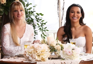 Heather Morris Naya Rivera Tribute