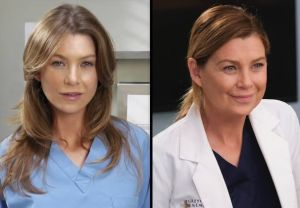 Ellen Pompeo Aging on Grey's Anatomy