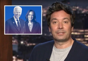 Kamala Harris Is Joe Biden's VP Pick - Jimmy Fallon Monologue
