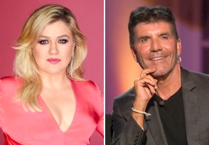 Kelly Clarkson Replaces Simon Cowell