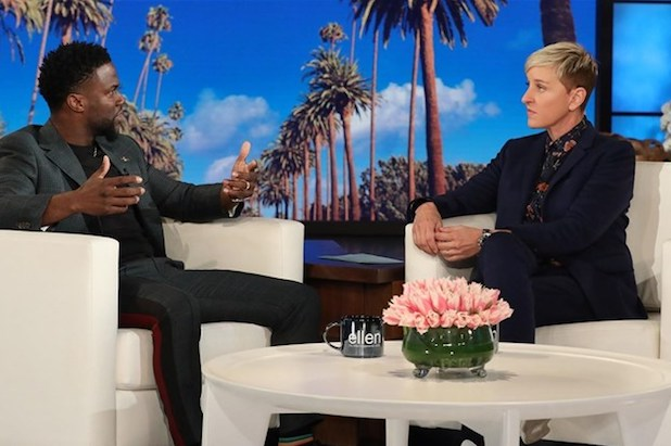 Kevin Hart Defends Ellen