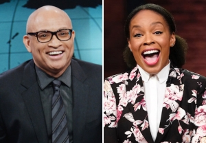 Larry Wilmore, Amber Ruffin