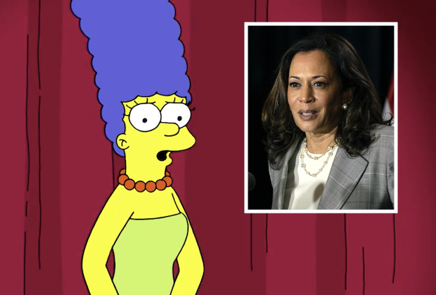 Marge Simpson, Kamala Harris