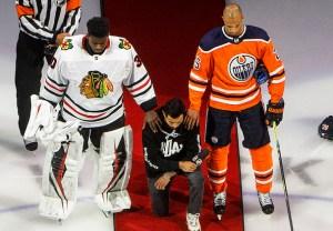 NHL Black Lives Matter Speech