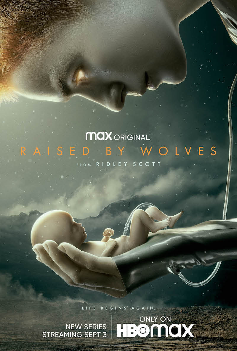 Raised by Wolves Trailer Poster