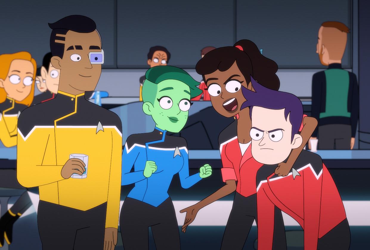 Star Trek Lower Decks Premiere