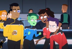 Star Trek Lower Decks Premiere
