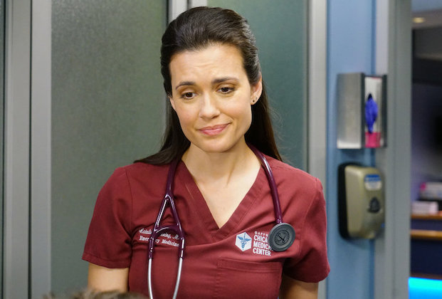 "CHICAGO MED -- ""In The Name Of Love"" Episode 518 -- Pictured: Torrey DeVitto as Natalie Manning -- (Photo by: Elizabeth Sisson/NBC)"