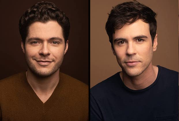 LGBTQ Lifetime Christmas Movie to Star Marrieds Ben Lewis and Blake Lee