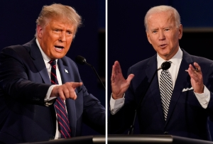 Presidential Debate: Grade Trump vs. Biden (And How Did Chris Wallace Do?)